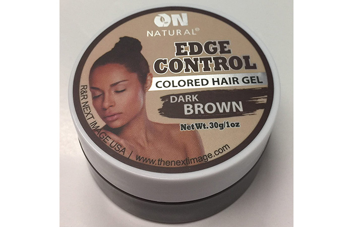 On Natural Edge Control Colored Hair Gel