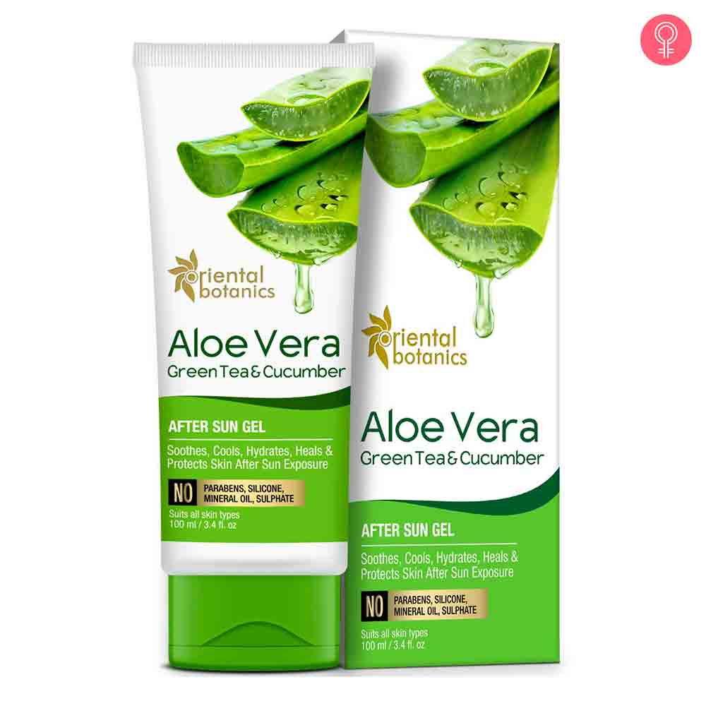 Oriental Botanics Aloe Vera, Green Tea & Cucumber After Sun Gel