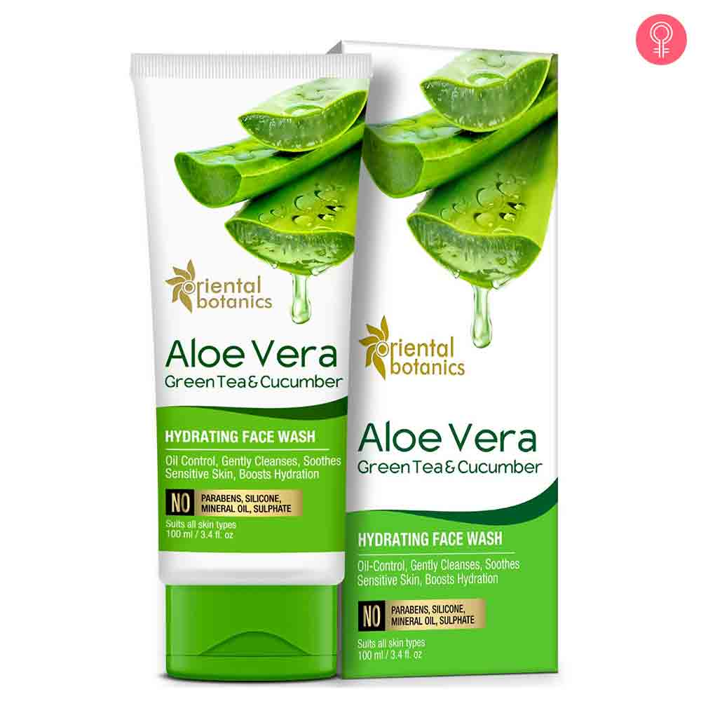 Oriental Botanics Aloe Vera, Green Tea & Cucumber Hydrating Face Wash
