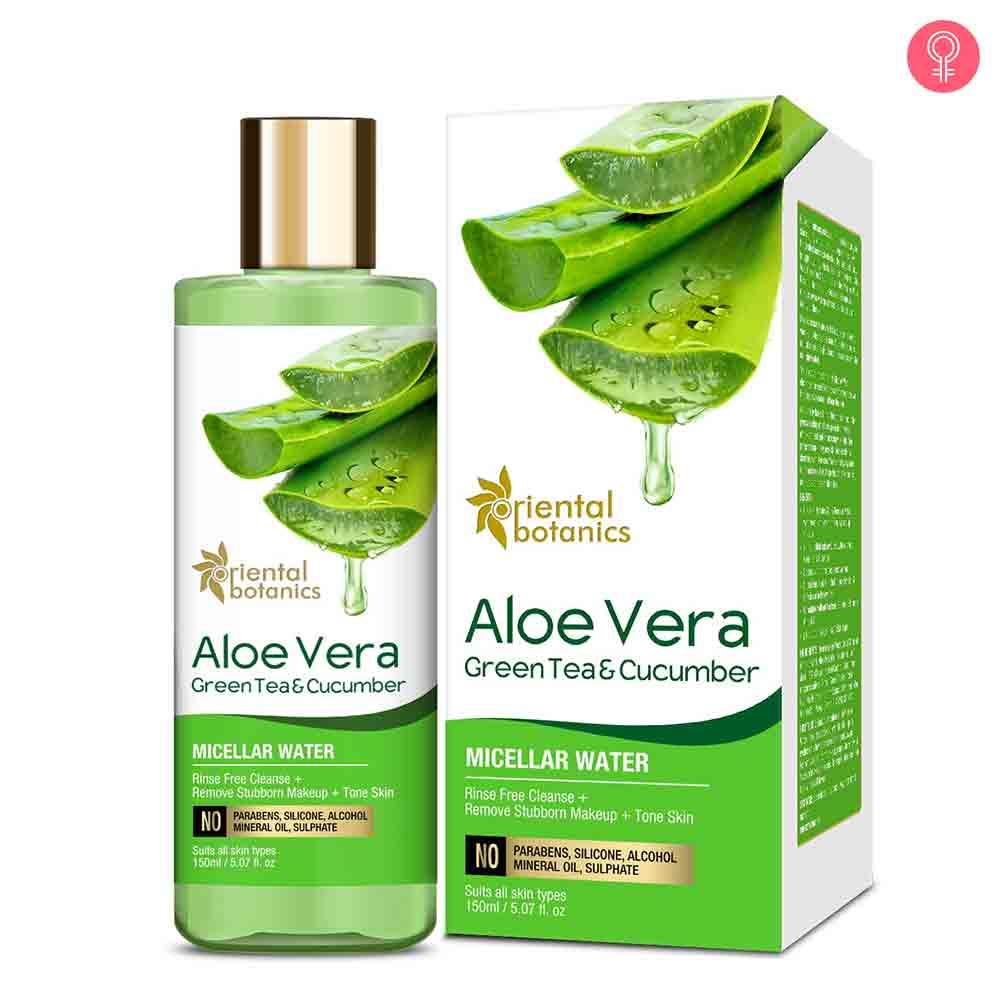 Oriental Botanics Aloe Vera, Green Tea & Cucumber Micellar Water