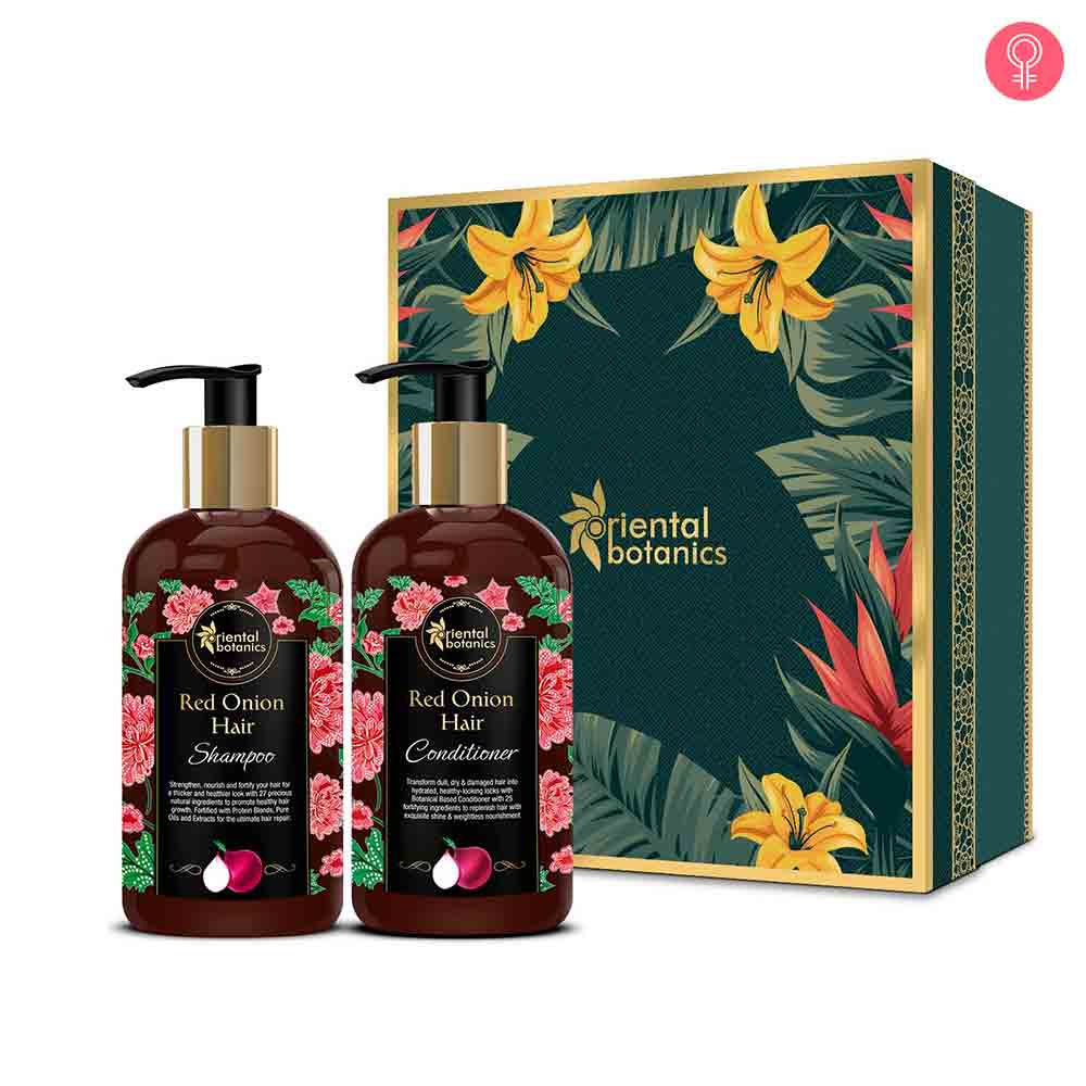 Oriental Botanics Red Onion Hair Shampoo + Conditioner Kit