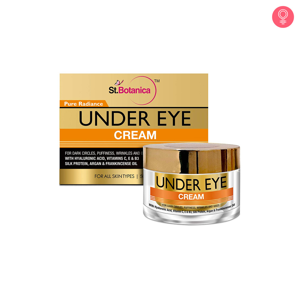 StBotanica Pure Radiance Under Eye Cream
