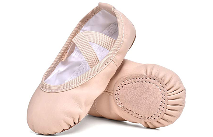 STELLE Girls Ballet Practice Shoes