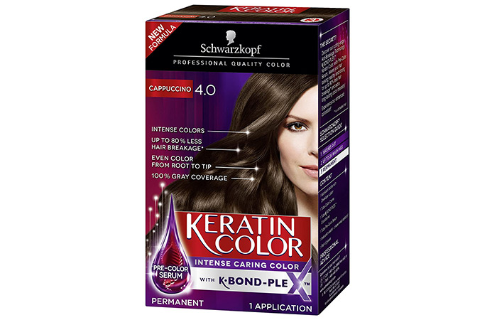Schwarzkopf Keratin Hair Color