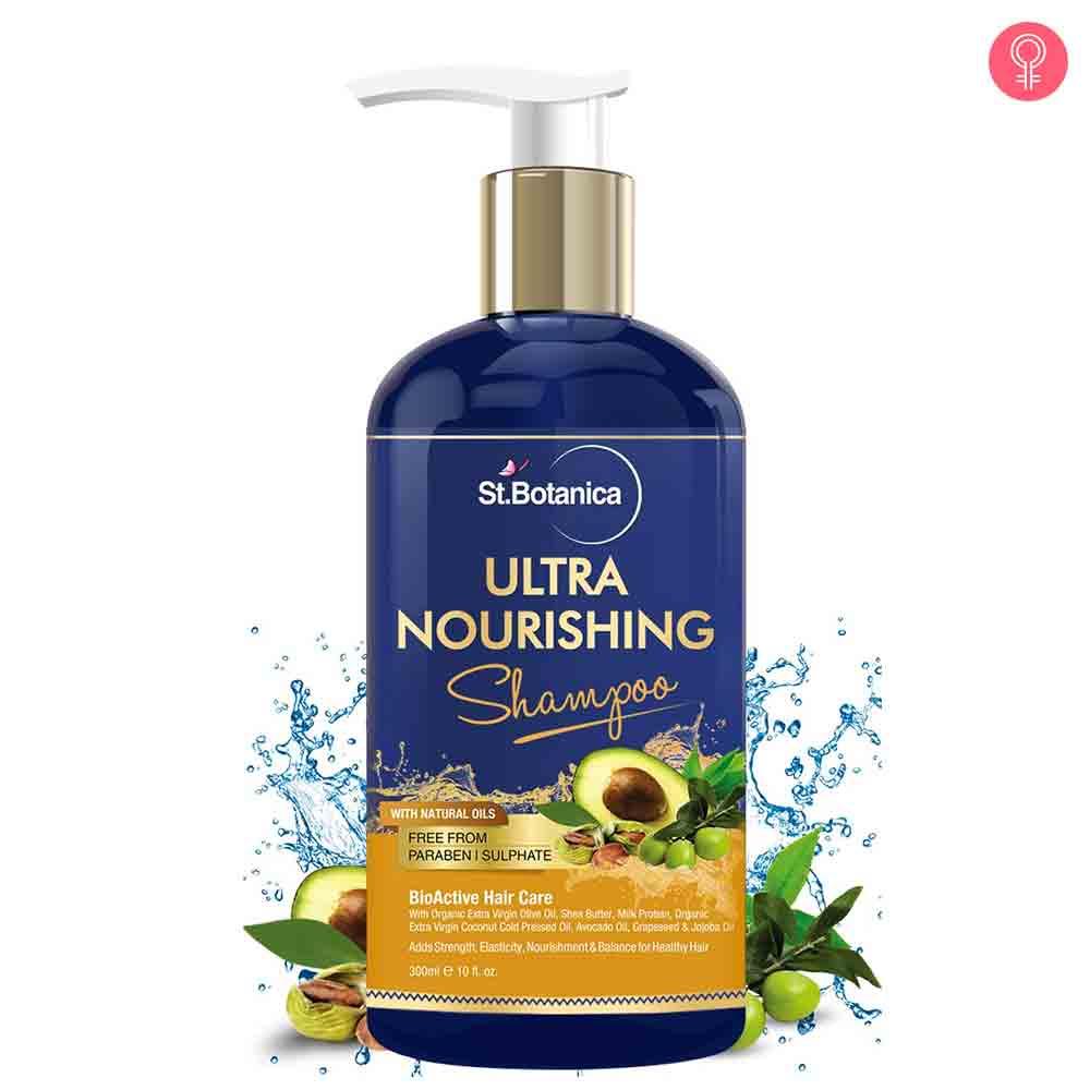 St.Botanica Ultra Nourishing Hair Shampoo