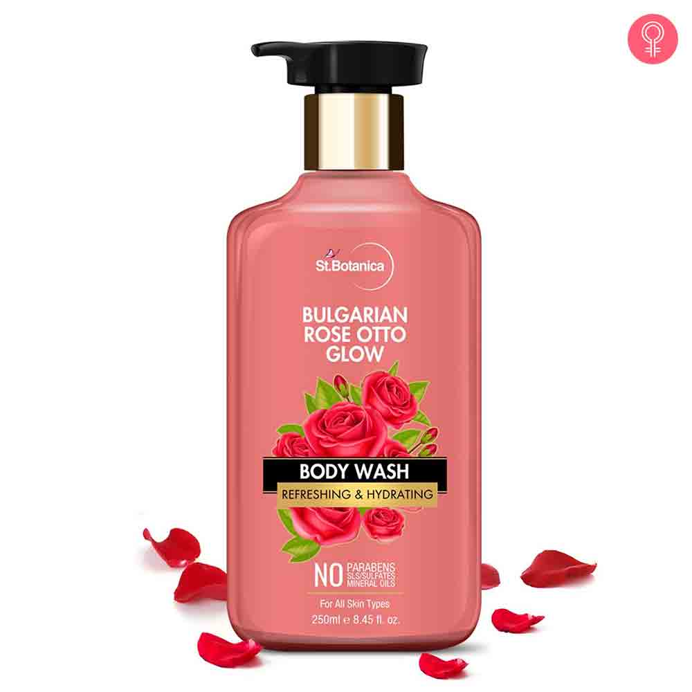 StBotanica Bulgarian Rose Otto Glow Body Wash