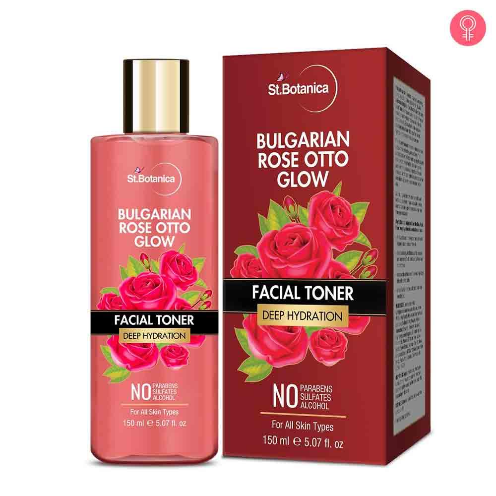 StBotanica Bulgarian Rose Otto Glow Deep Hydration Facial Toner
