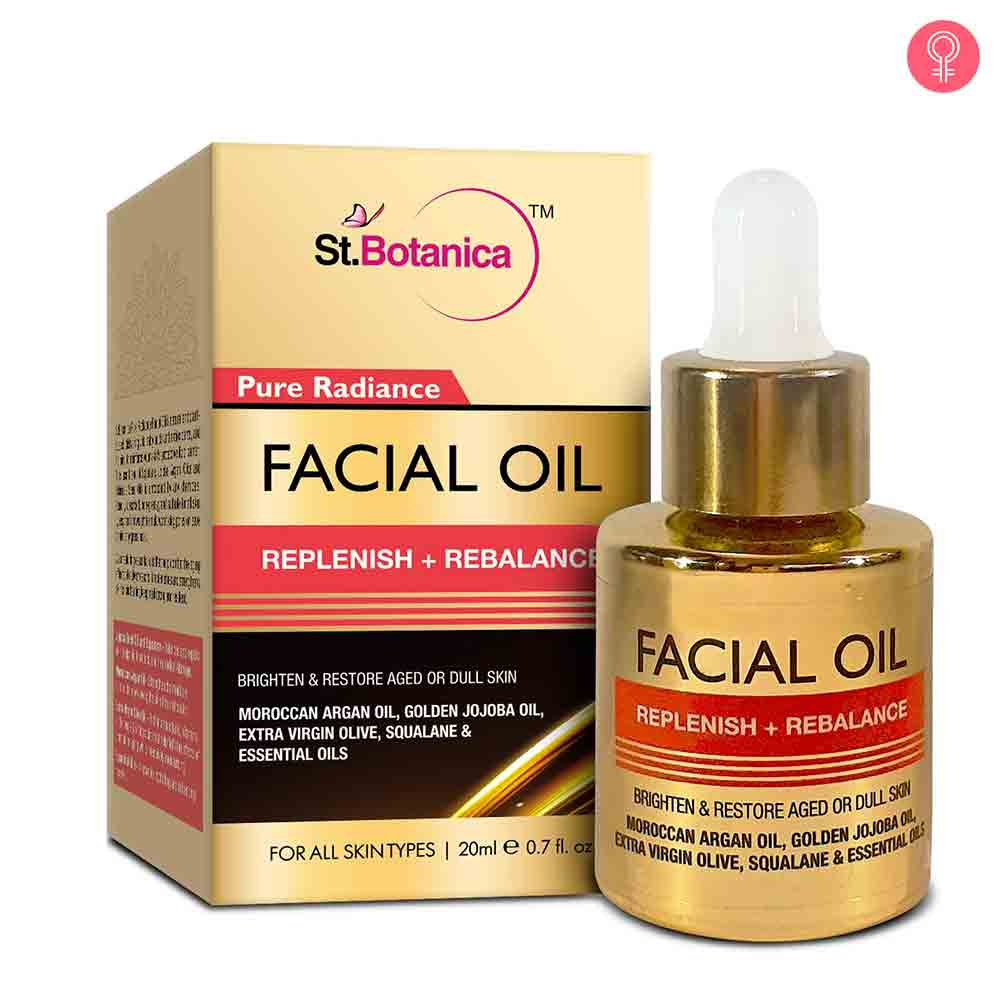 StBotanica Pure Radiance Facial Oil