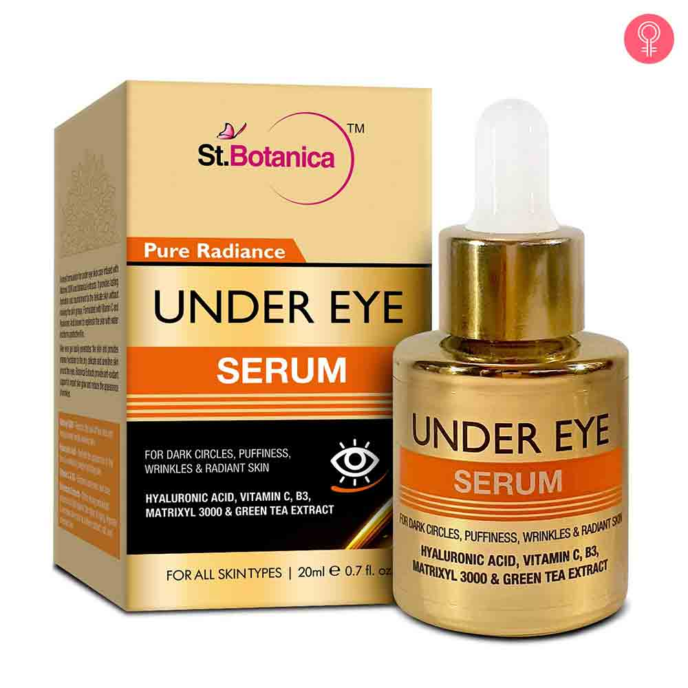 StBotanica Pure Radiance Under Eye Serum