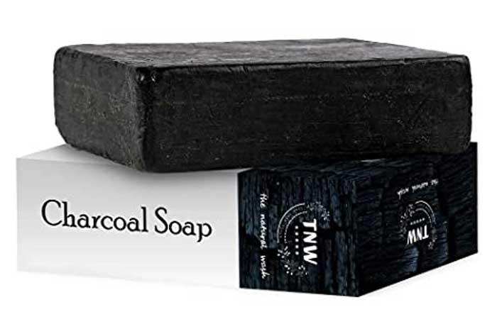 TNW Natural Wash Handmade Charcoal Soap