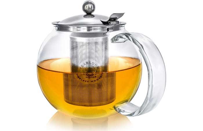 Teabloom New Design Glass Teapot