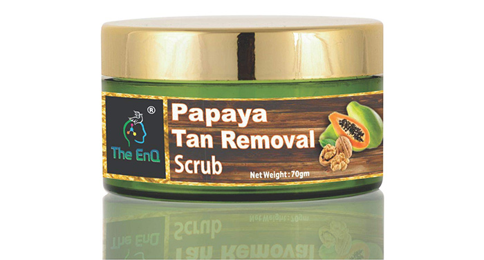The ENQ Papaya Tan Removal