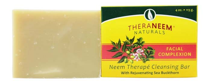 Theranim Naturals Facial Complexation Neem Therapy Cleansing Bar