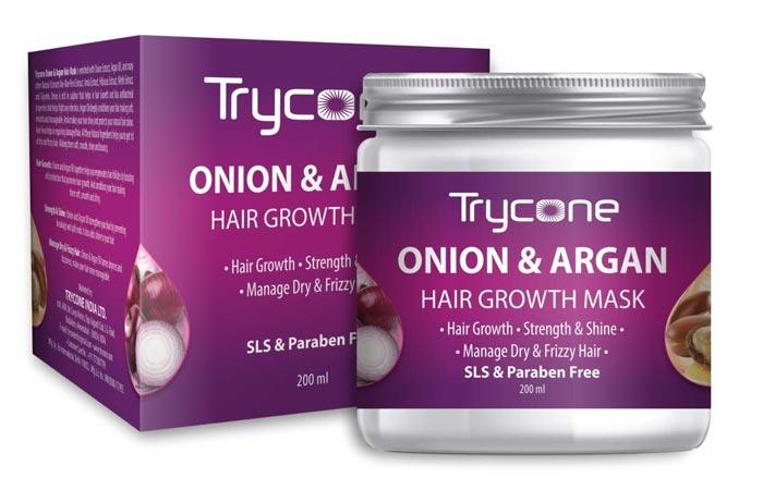 Tricon Onion Argon Hair Growth Mask