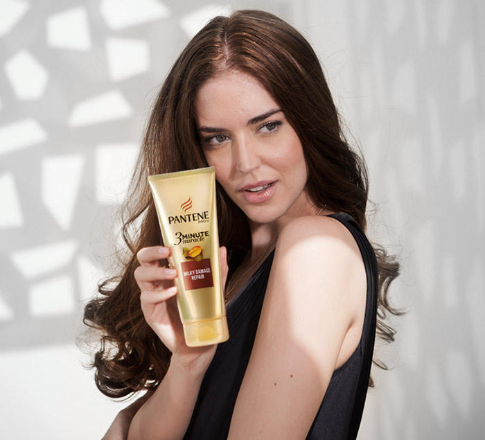Try out the Pantene 3 MinuteMiracle