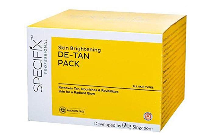 VLCC Specific Skin Brightening D-Tan Pack