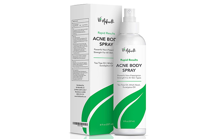 Vie Naturelle Acne Body Spray