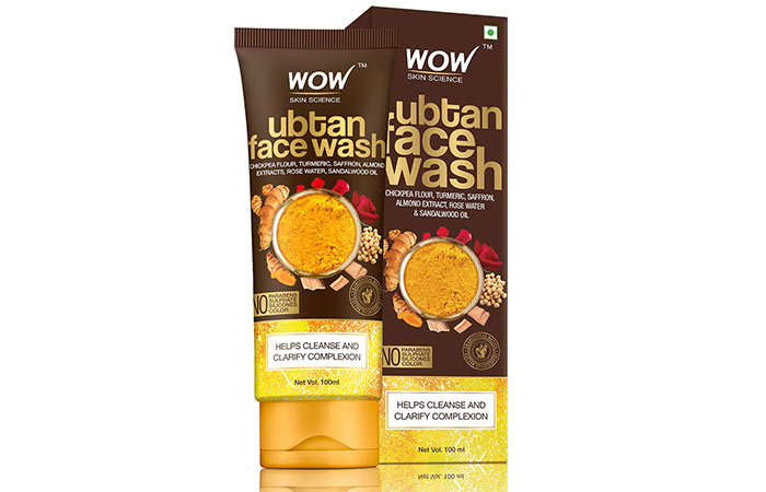 WOW Skin Science Ubtan Face Wash