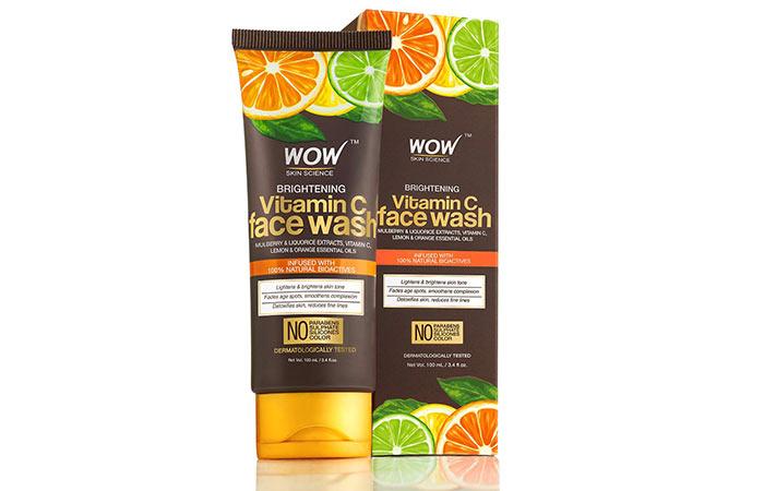 Wao Bright Vitamin-C Face Wash