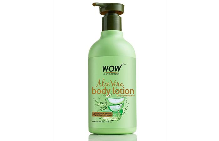 Wao Skin Science Aloe vera Body Lotion