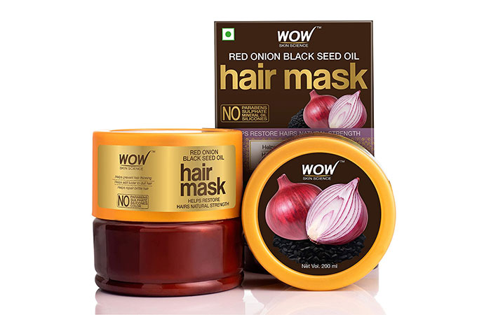 Wao Skin Science Red Onion Black Seed Oil Hair Mask