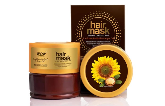 Wao Skin Science Sunflower Biolipids and Argan Oil Hair Mask