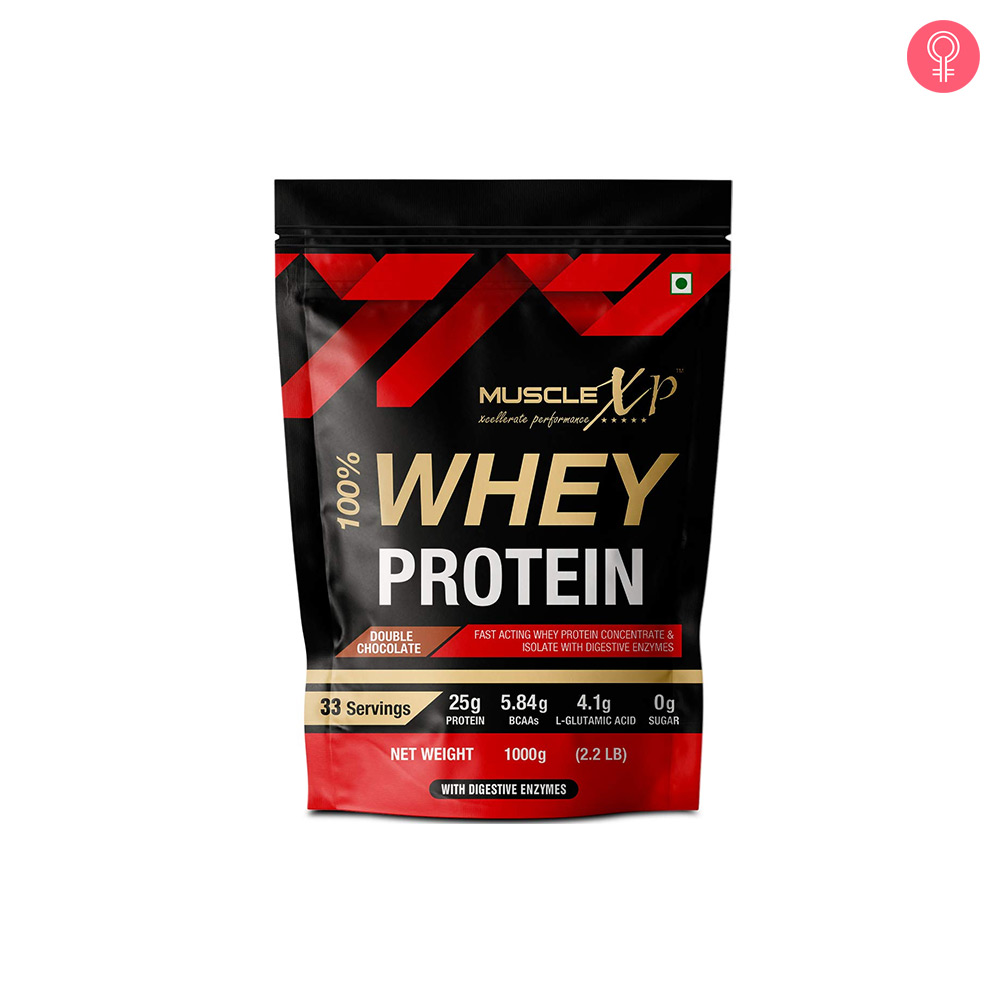 MuscleXP 100% Whey Protein With Digestive Enzyme