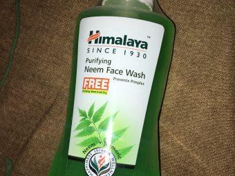 Himalaya Herbals Purifying Neem Face Wash -Himalaya neem face wash-By lata_