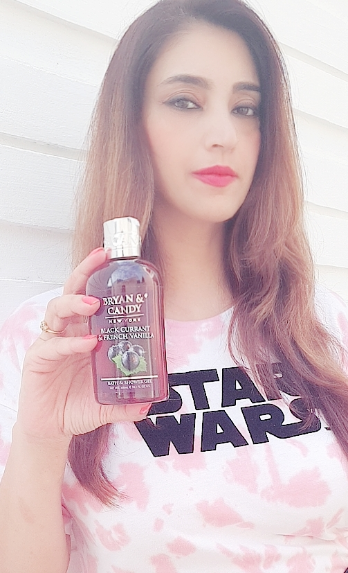 Bryan & Candy New York Black Currant and French Vanilla Shower Gel pic 1-FRUITY FRAGRANCE-By vani__seth