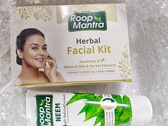 Roop Mantra Herbal Facial Kit pic 1-Amazing aroma facial experience-By khushbooj