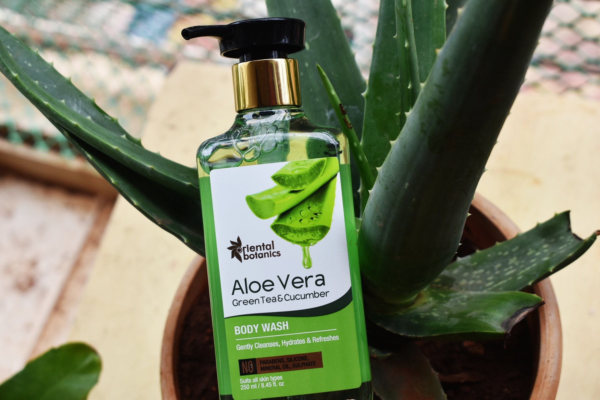 Oriental Botanics Aloe Vera Green Tea & Cucumber Body Wash-Best Aloe-Cucumber Duo-By thatkohlgirl-3