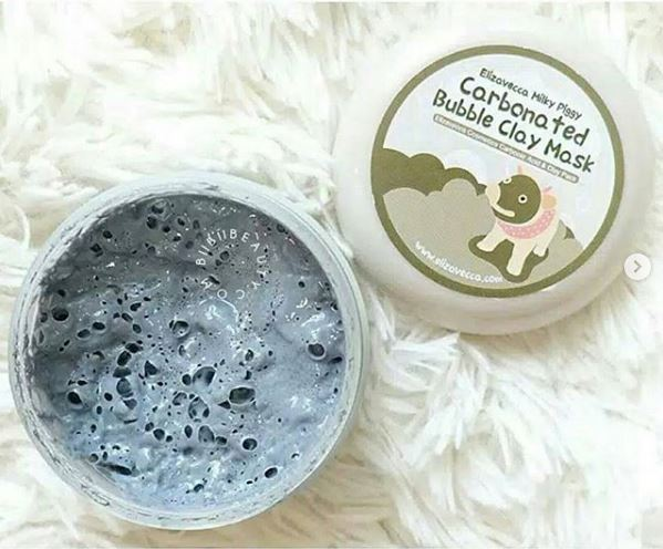 Elizavecca Milky Piggy Carbonated Bubble Clay Mask-Bubble Clay Mask-By pinky_rajput