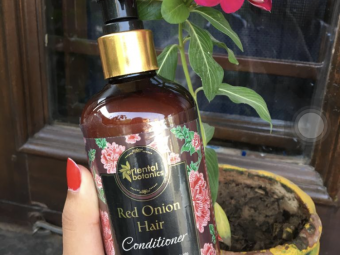 Oriental Botanics Red Onion Hair Conditioner pic 4-One of the finest conditioners-By foodstoriesbysanya