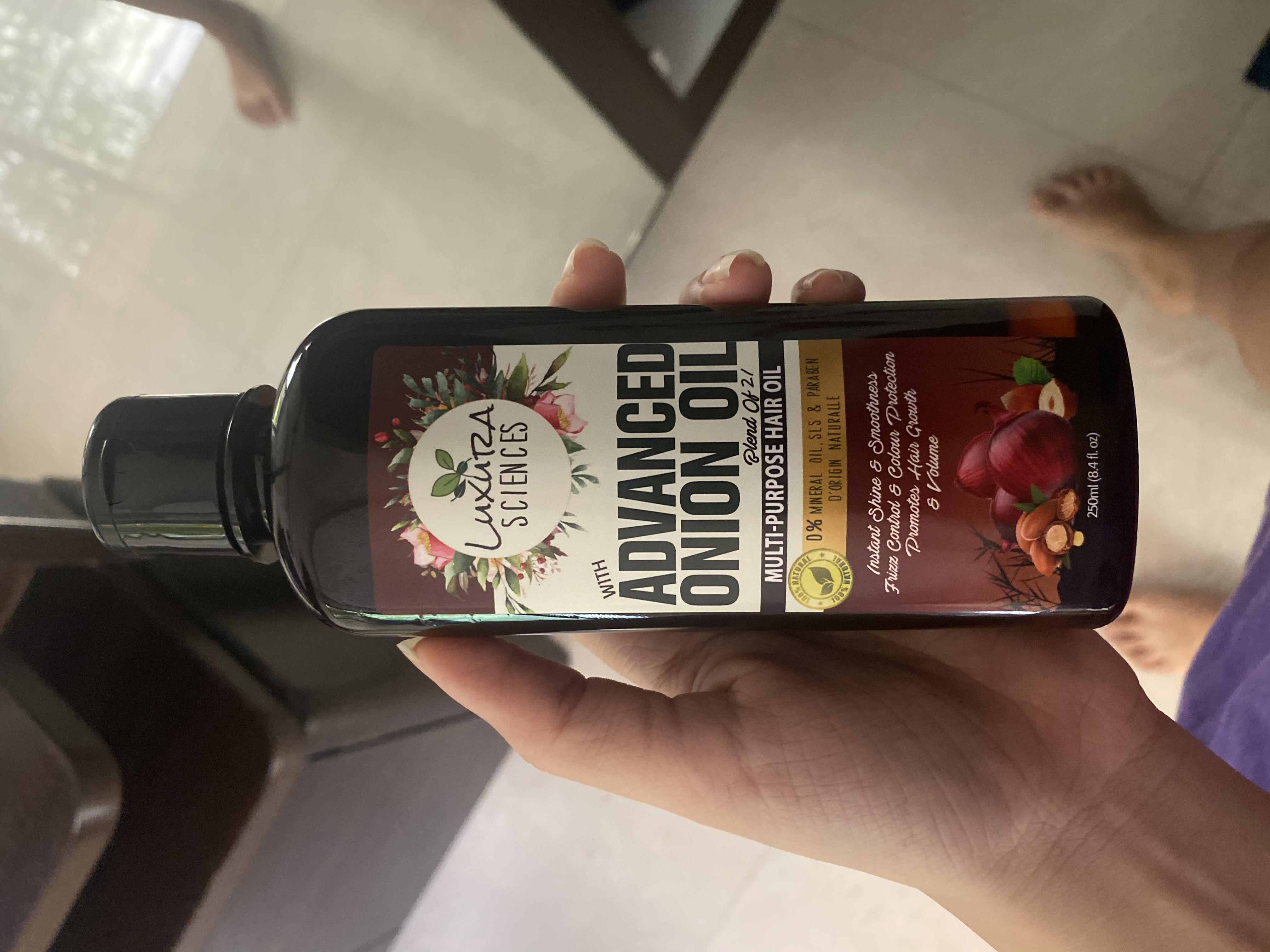 Luxura Sciences Advanced Onion Oil 250 ml-Stronger healthier hair-By neelam99