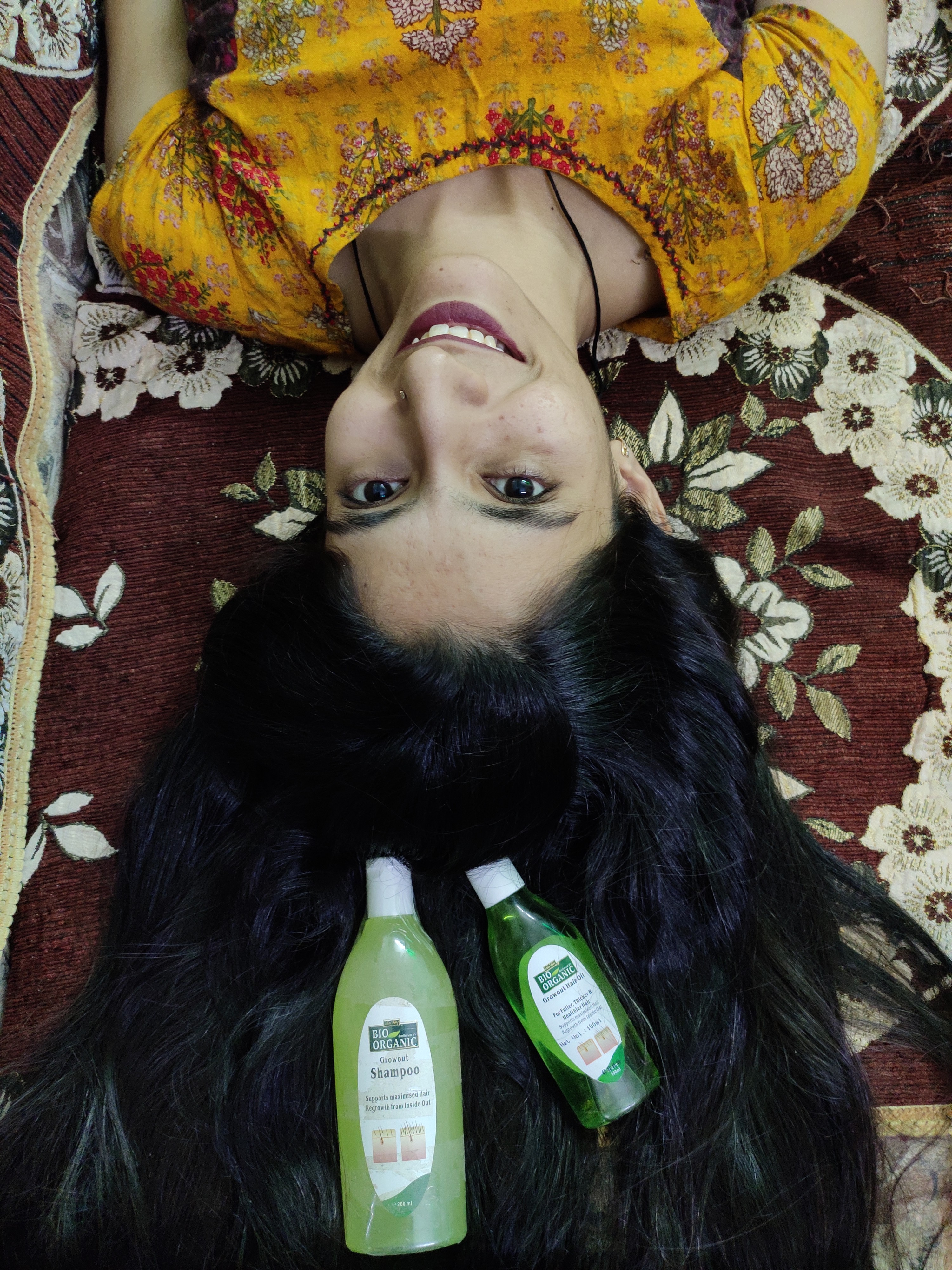 Indus Valley Bio Organic Growout Hair Oil-Satisfied with the product-By razina126