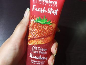 Himalaya Herbals Fresh Start Oil Clear Strawberry Face Wash -What a fresh start!-By nishthask