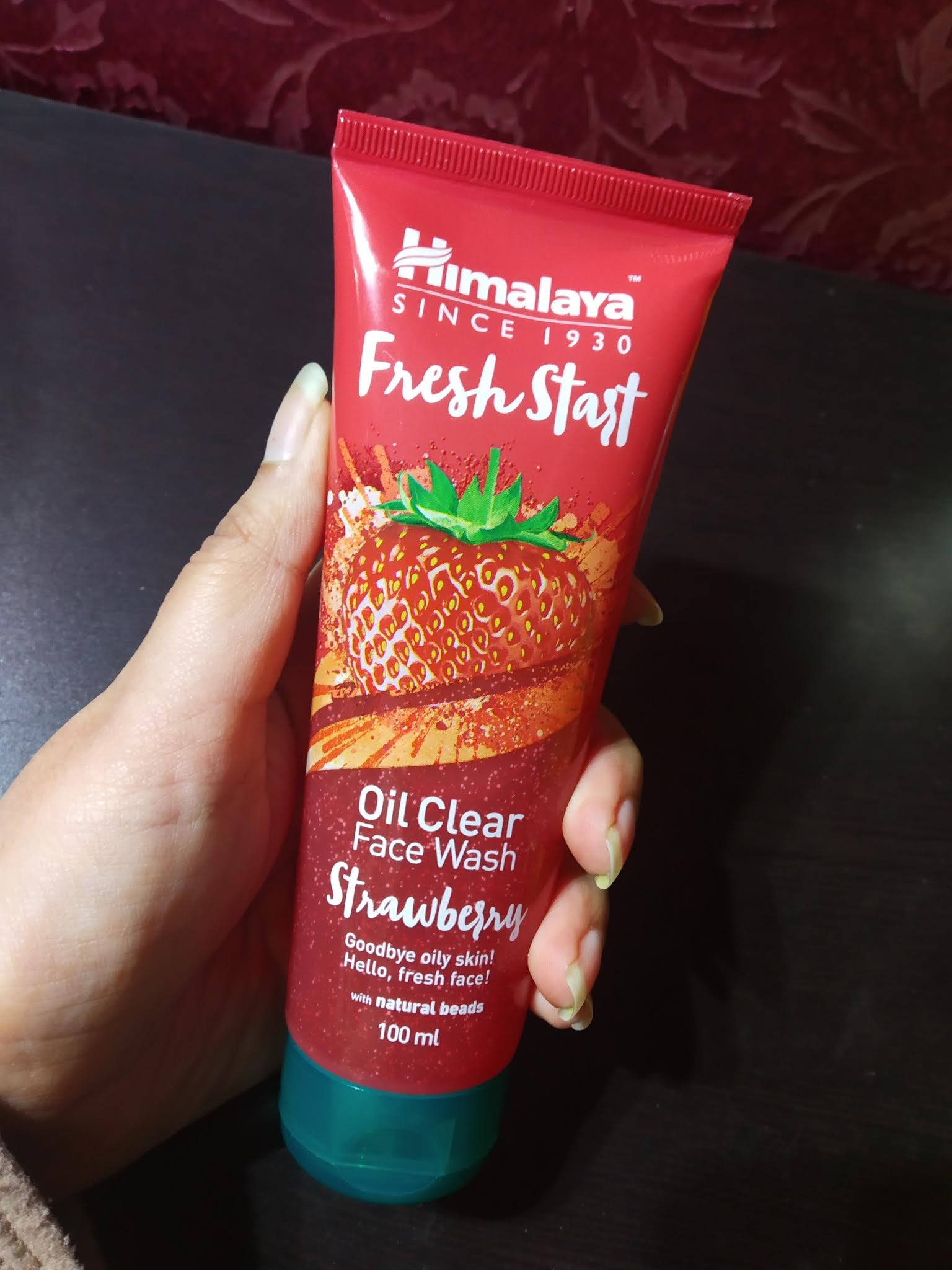 Himalaya Herbals Fresh Start Oil Clear Strawberry Face Wash-What a fresh start!-By nishthask