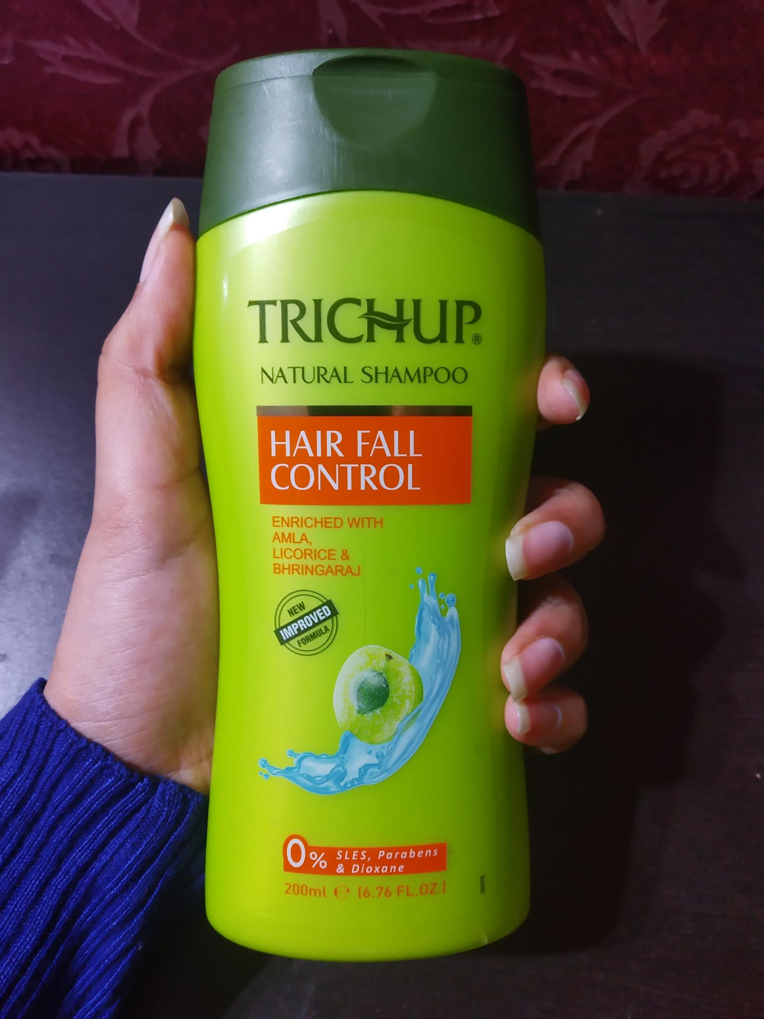 Trichup Hair Fall Control Shampoo-Best shampoo for hairfall control-By nishthask