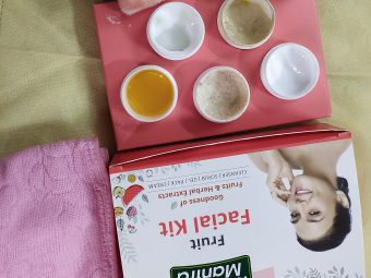 Roop Mantra Fruit Facial Kit -Average Product-By marwadi_beauty