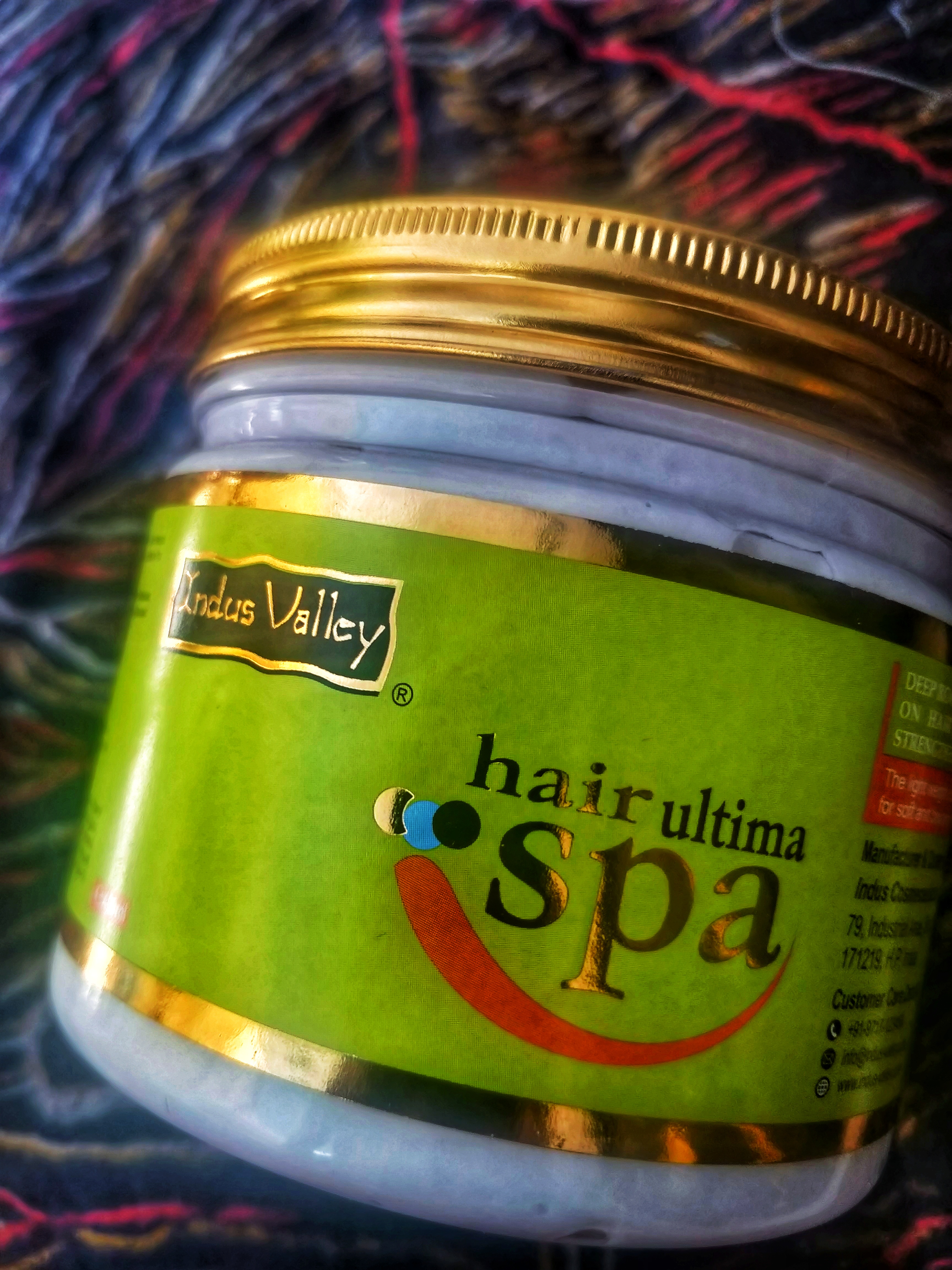 Indus Valley Hair Ultima Spa-Suitable for frizzy hair-By sri._.reviwer