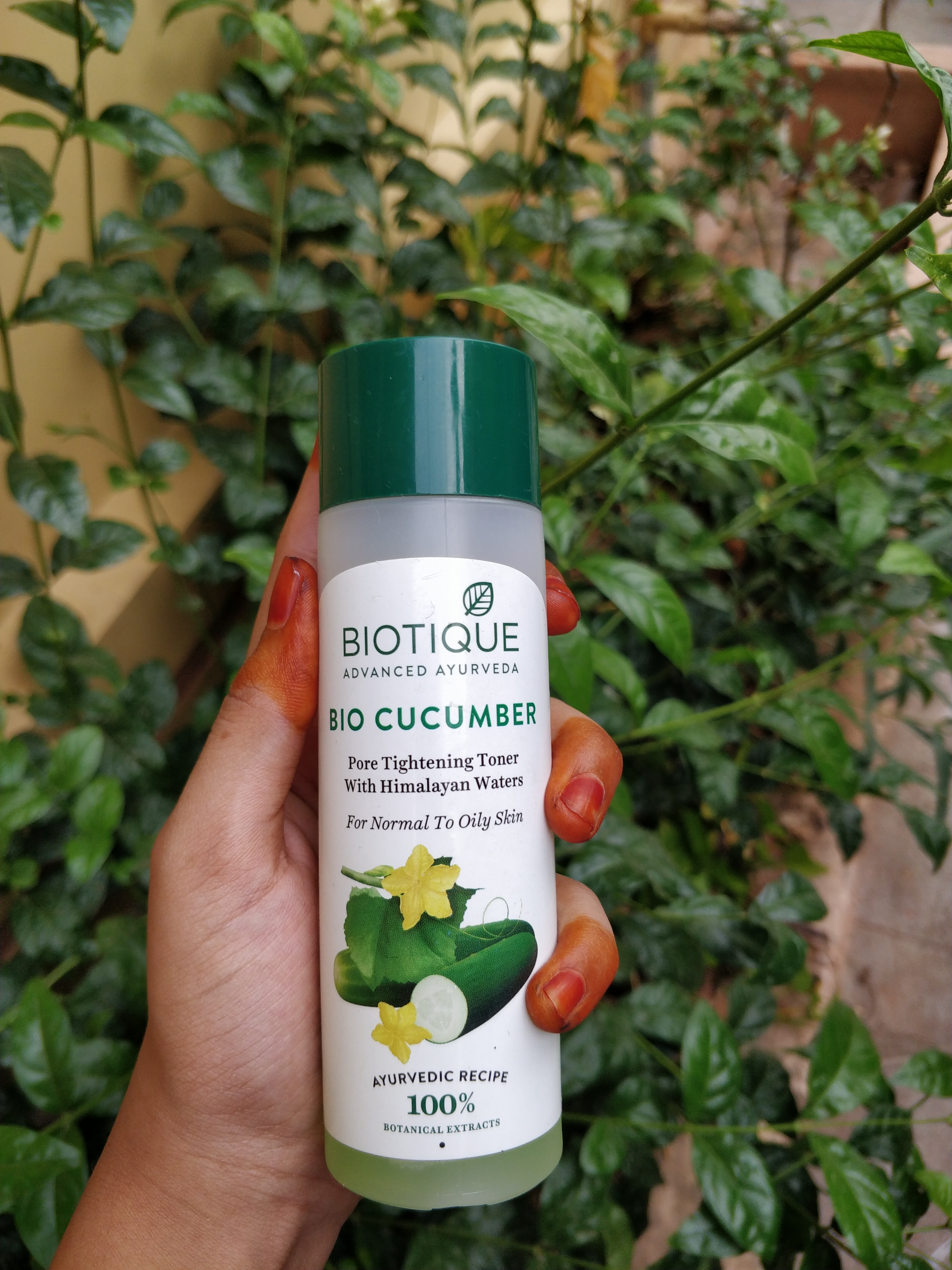 Biotique Bio Cucumber Pore Tightening Toner-Must-try for beginners-By sri._.reviwer