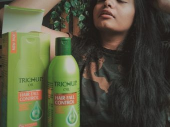 Trichup Hair Fall Control Hair Oil -Great for people struggling with hair fall-By shravika1