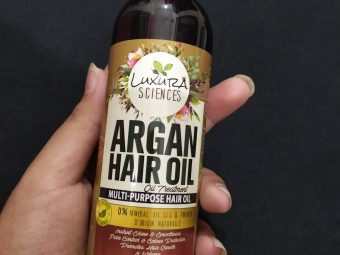 Luxura Sciences Argan Hair Oil 200 ml -Natural oil with mild Fragrance-By fooddestination