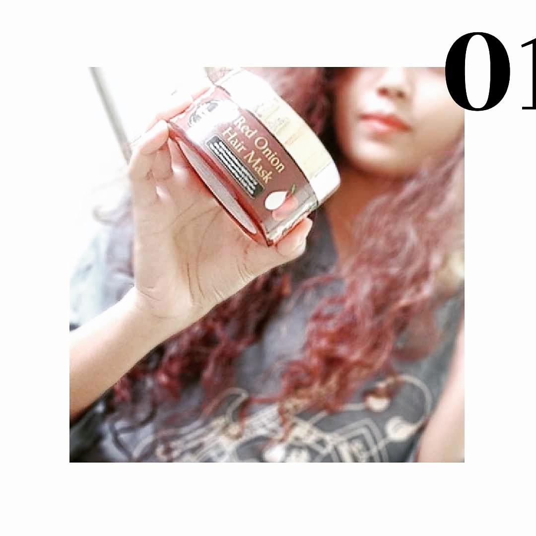 Oriental Botanics Red Onion Hair Mask-Best Hair Mask-By amisha1999