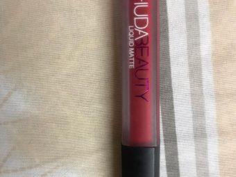 Huda Beauty Liquid Matte Lipstick -true beauties-By shilpamittal