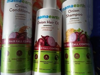 Mamaearth Onion Conditioner For Hair Growth & Hair Fall Control -Mamaearth onion hair products range-By shilpamittal