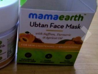 MamaEarth Ubtan Face Mask pic 2-Mamaearth ubtan face mask-By shilpamittal