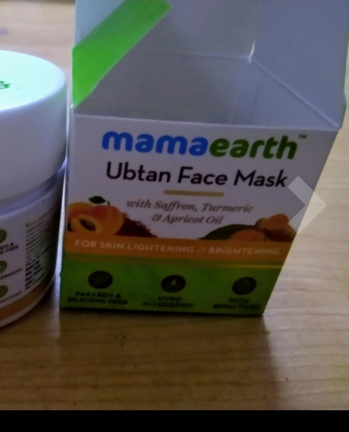 MamaEarth Ubtan Face Mask-Mamaearth ubtan face mask-By shilpamittal-2