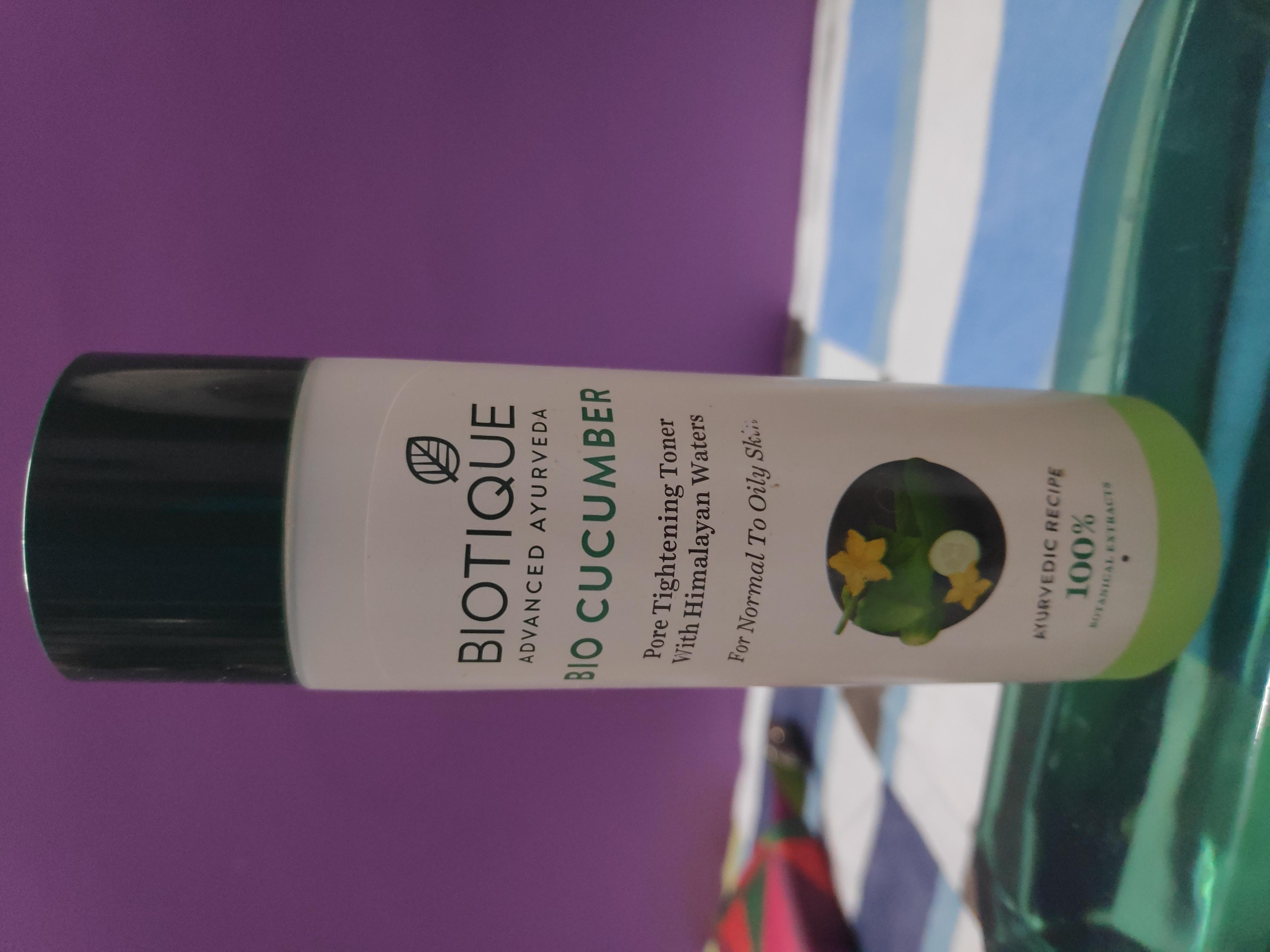 Biotique Bio Cucumber Pore Tightening Toner-Best toner available in the Market-By suparna_dey-2