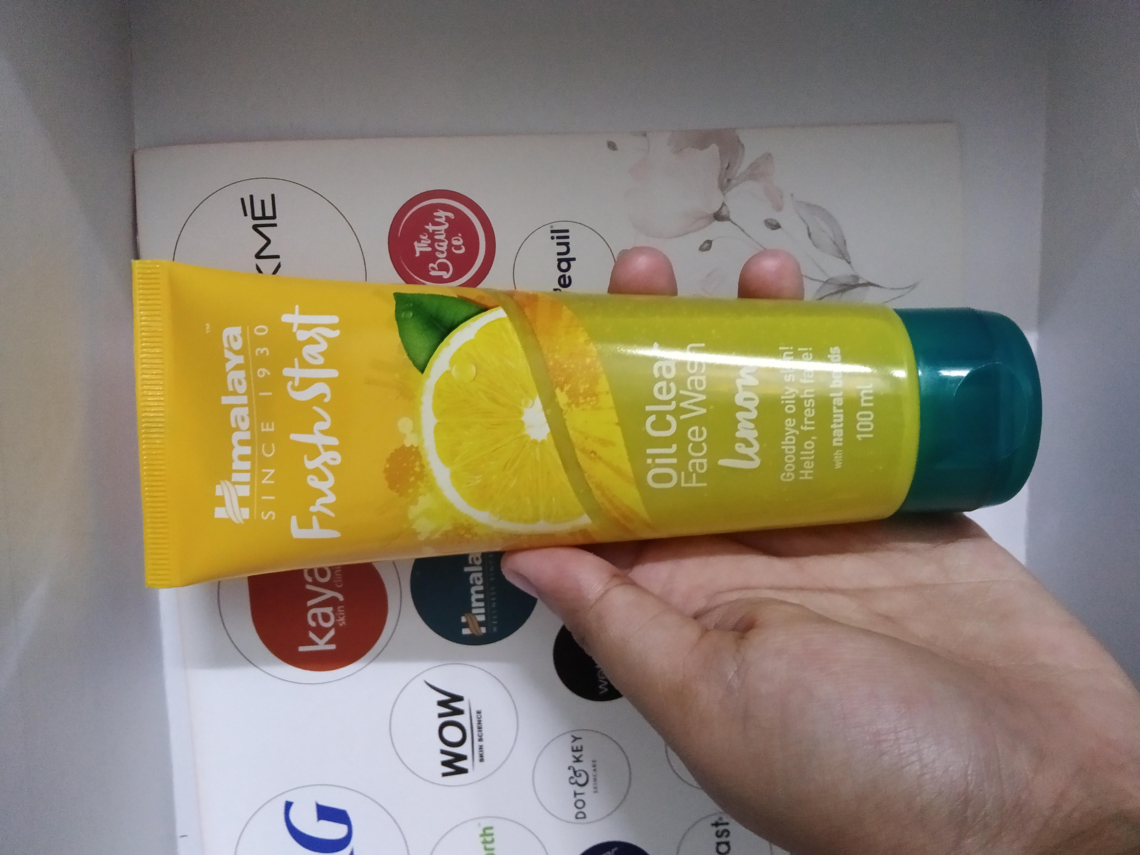 Himalaya Herbals Fresh Start Oil Clear Lemon Face Wash-Feels refreshing-By sukanya_sarkar_vlogs